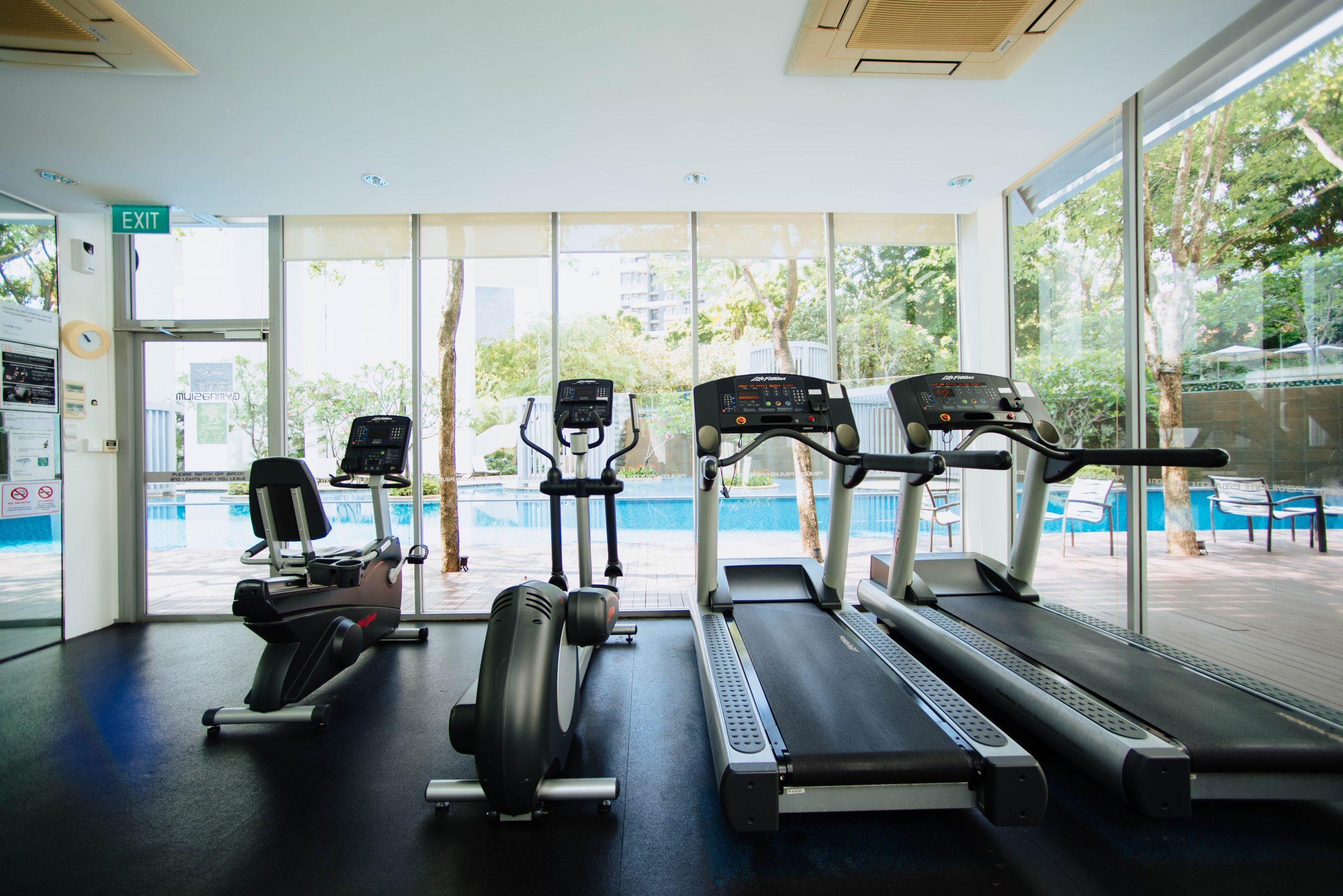 Treadmill or Elliptical Machine